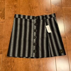 NWT tilly's striped skirt